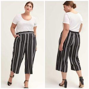 🆕 Love & Legend striped wide leg pants size 4X